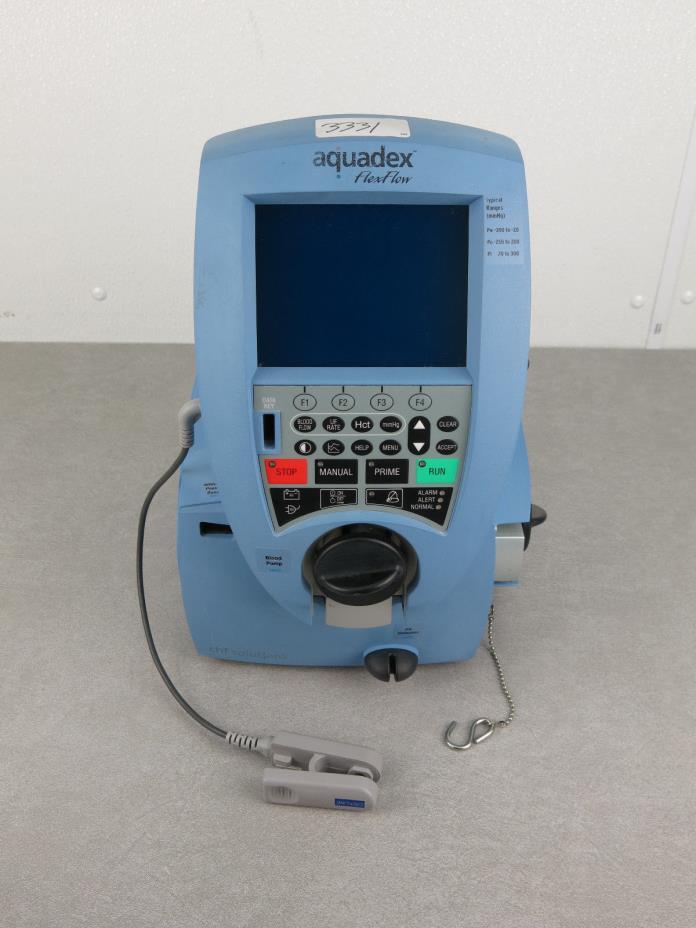 Aquadex FlexFlow Fluid Removal System
