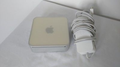 Rare Upgraded Apple Mac Mini Core 2 Duo 2.33GHz/4GB/320GB/Wi-Fi/AC Adptr/OS Lion