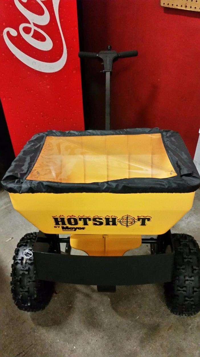 Meyer Products  Hot Shot 70 lb. Walk Behind Spreader 38170