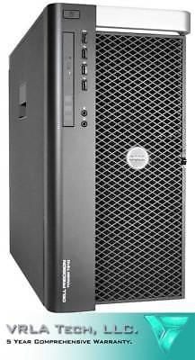 DELL T7910 Workstation 256GB 1x 500GB 2 x E5-2695v3 M6000 12GB