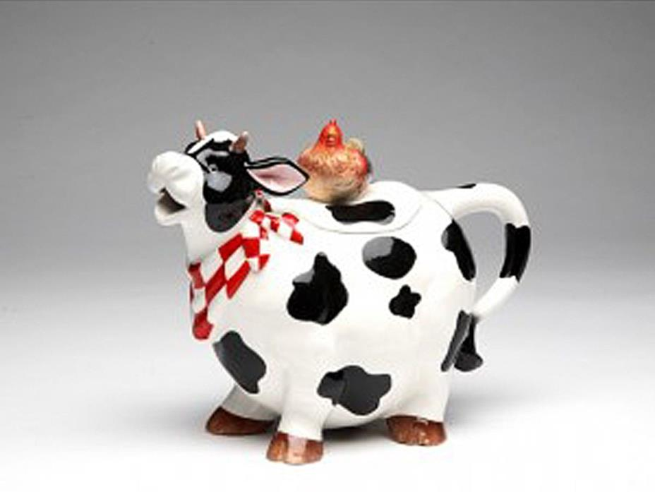 Appletree Design COW TEAPOT