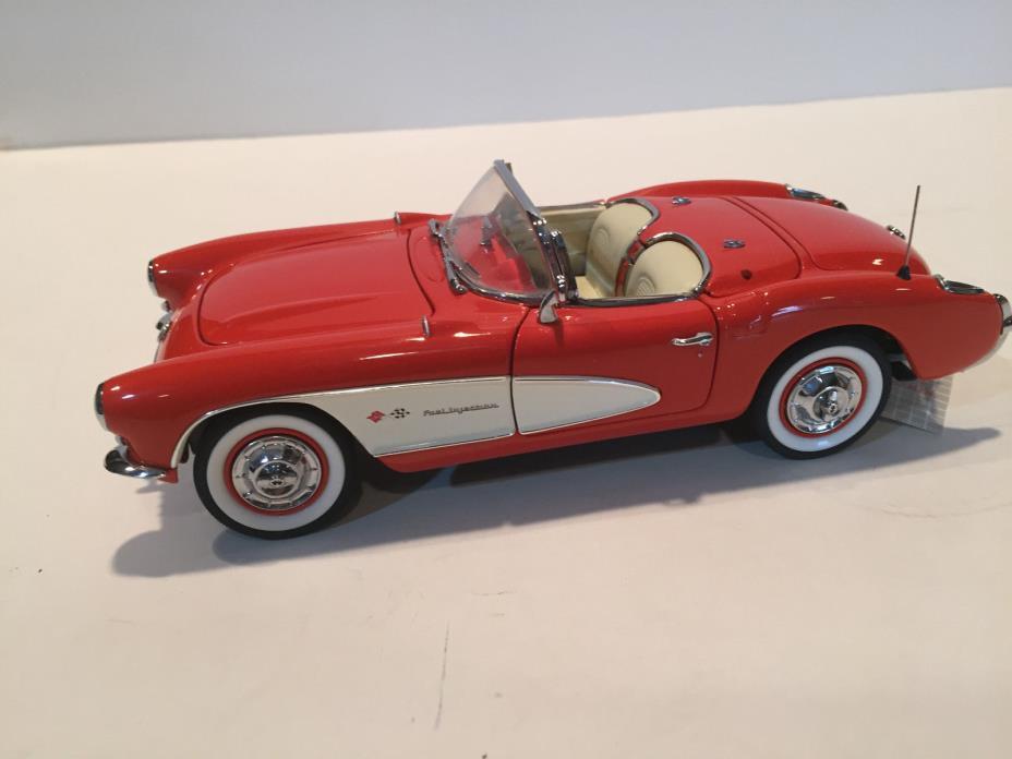 Franklin Mint Rare The Only FIBERGLASS 1957 Fuelie Corvette (B11ZB80)