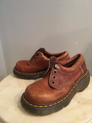 VTG LOT Dr Martens Docs Air Wair Leather BOOTIES SHOES