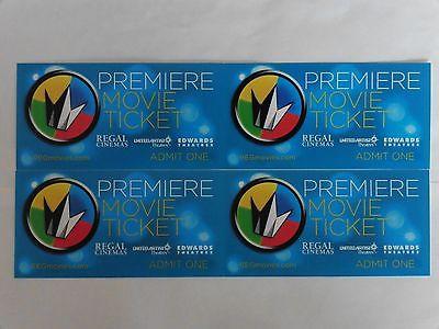 4 Regal movie tickets - never expire