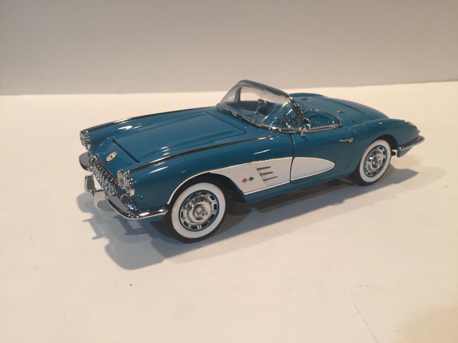 Frankli Mint 1960 Tasco Turquise Corvette B11XA11