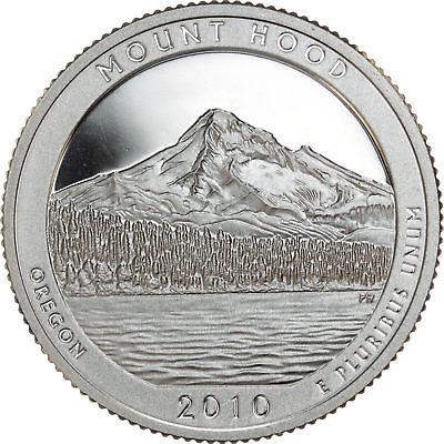 2010 ATB MOUNT HOOD CLAD GEM PROOF DCAM STATE PARK QUARTER ROLL (40)
