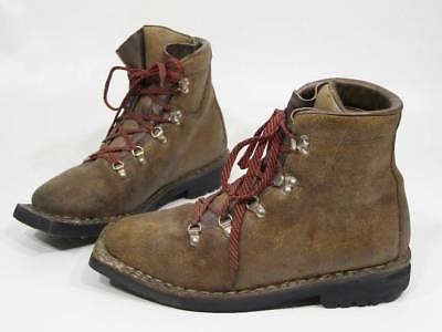 Vintage VASQUE 7599 Backcountry Telemark Cross Country 3-Pin Ski Boots Men 9.5