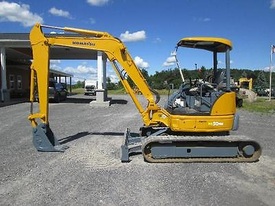 Komatsu PC50MR-2 Farm Mini Excavator Tractor Dozer