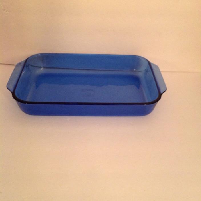 COBALT Blue PYREX 13x9x2