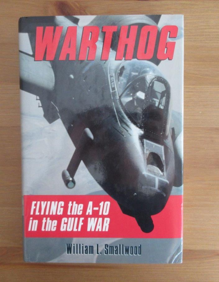 A-10 PILOT DESERT STORM BOOK THUNDERBOLT smallwood