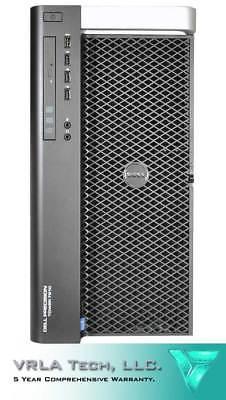 DELL T7910 Workstation 2 x E5-2698v4 1x 1TB & 1x 2TB 256GB M6000 24GB