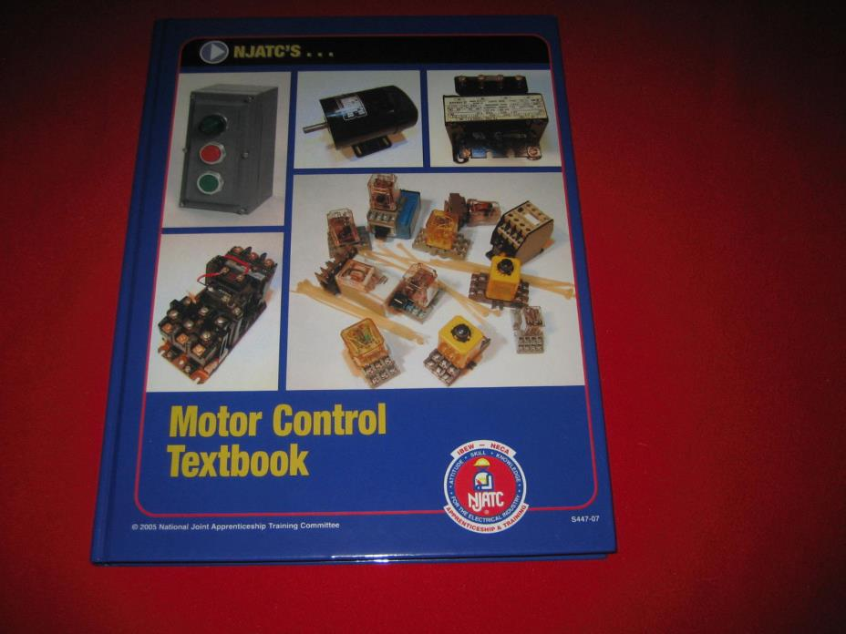 Motor Control Textbook NJATC National Joint Apprenticeship Training 2005 relays