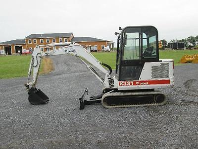 Bobcat 331 Farm Mini Excavator Tractor Dozer