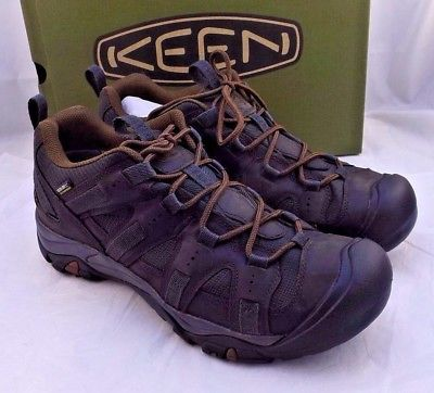 New KEEN Siskiyou Waterproof Low Work Hiking Boots Men Size 10.5 M RETAIL $135
