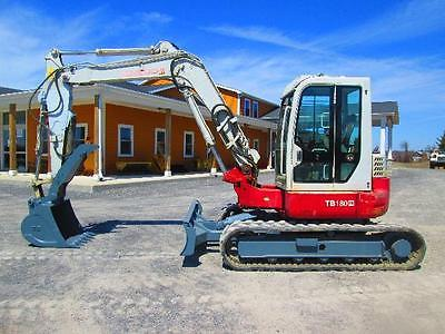 Takeuchi TB180FR Farm Midi Excavator Tractor Dozer