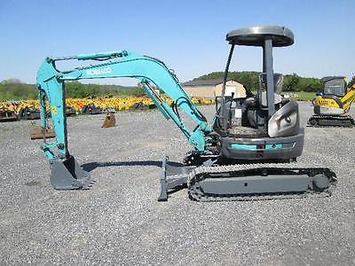 Kobelco SK35SR Mini Excavator Farm Tractor Dozer