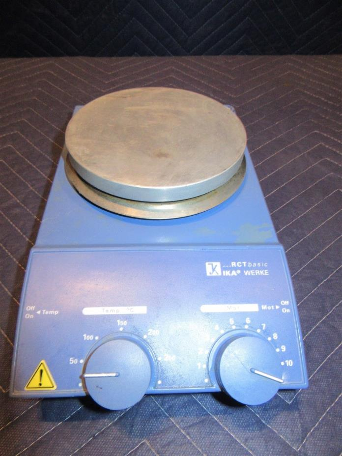 IKA RCT Basic S1 MAGNETIC STIRRER 115V 50/60Hz 620W 0..1100RPM
