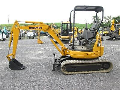 Komatsu PC20MR-1 Farm Dozer Mini Excavator