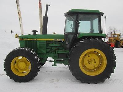 John Deere 4350 Tractor