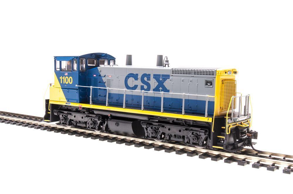 CSX RAILROAD SW1500 SWITCHER W/DCC & SOUND BY BROADWAY LIMITED HO-SCALE