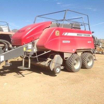 2014 Massey Ferguson 2270 Bale Handling Equipment