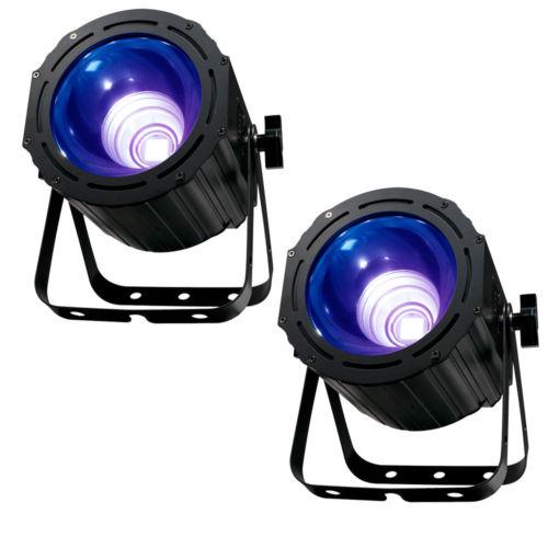 American DJ Products UV COB CANNON LED UV Wash Light Variable Speed Strobe-PAIR