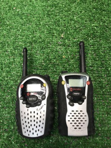 COLUMBIA  2-WAY 14 CHANNEL RADIO WALKIE TALKIE Motorola Inside 2 Mile Radius