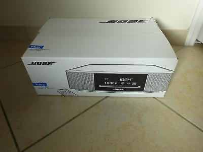 NEW SEALED Bose Wave Music System IV CD PLAYER Radio Alarm  ESPRESSO BLACK