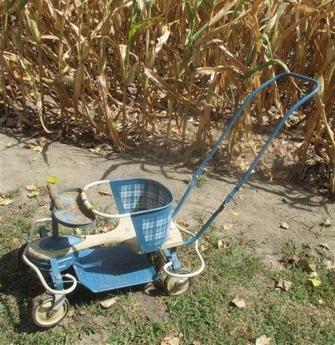 Taylor Tot Stroller Baby Carrier Buggy Walker Vintage Mid Century Retro Groovy P