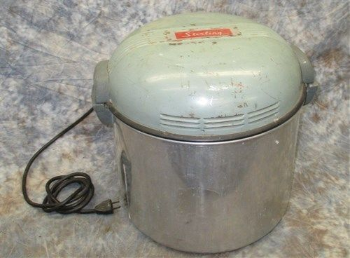 Sterling Washing Machine Portable Electric Vintage Laundry Appliance Antique