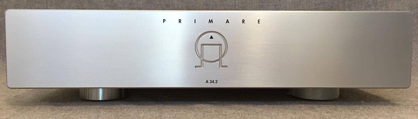 Titanium Primare A 34.2 Audiophile 2-Channel Amplifier VG Condition $2500