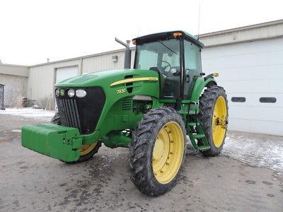 2007 John Deere 7830 Tractors