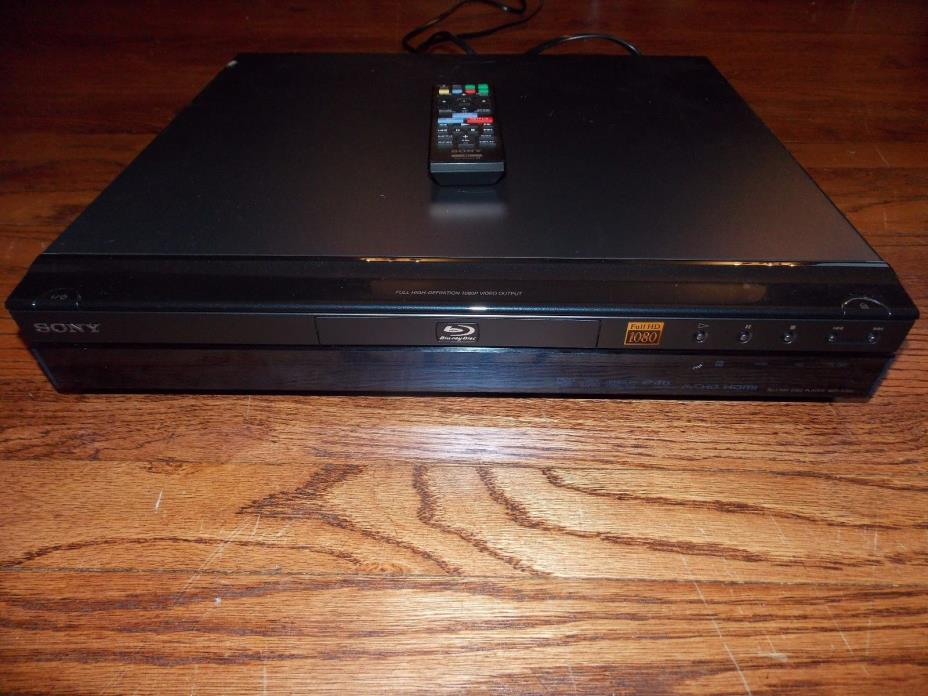 Sony BDP-S300 Blu-Ray Disc/DVD Video Player No Original Remote