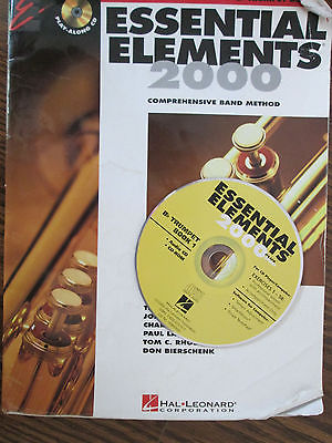 Essential Elements 2000 for Bb Trumpet Book 2 Hal Leonard Corp. with CD