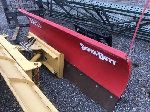 Boss skidsteer snow plow