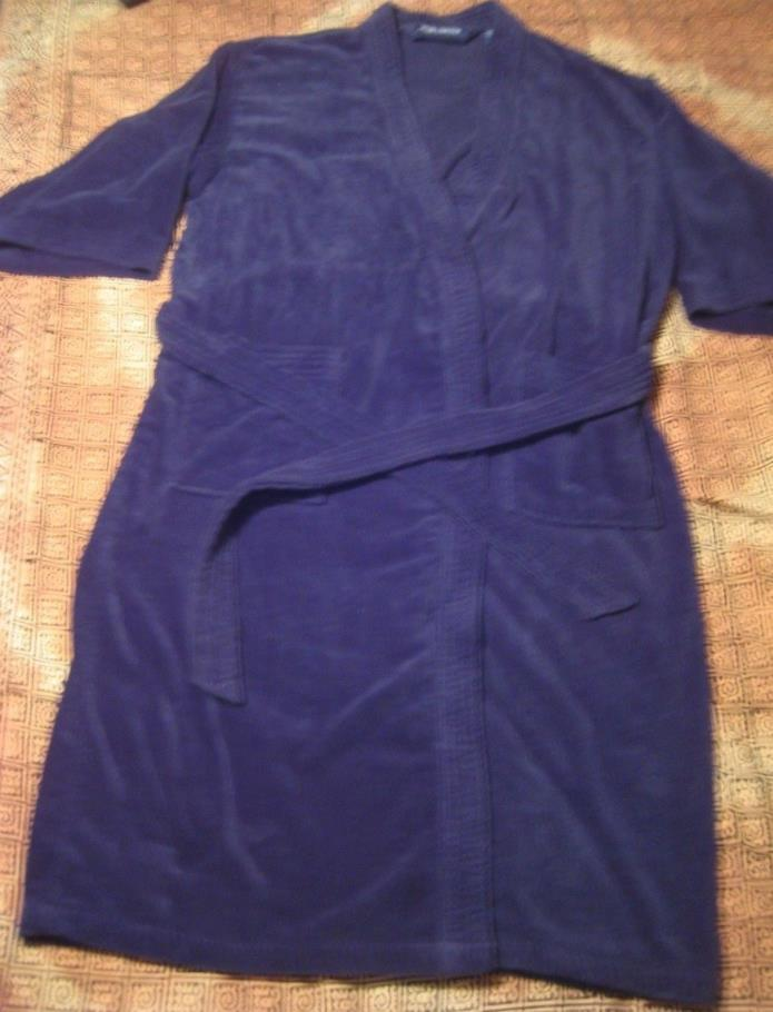 High Sierra Sz OSFA Reg unisex blue spa bathrobe Thick Warm n Cozy FAST SHIP!