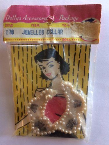 Vintage Jeweled Doll Collar