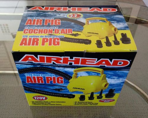AIRHEAD By KWIK TEK Air Pig Pump 120V 3.5 Amps 470 Watts WMP-120AP