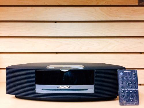 Bose Wave Music System III Radio AM/FM/CD/AUX Player Alarm Clock w/ REMOTE