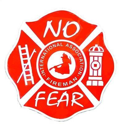 Magnet International Association Fireman No Fear 5