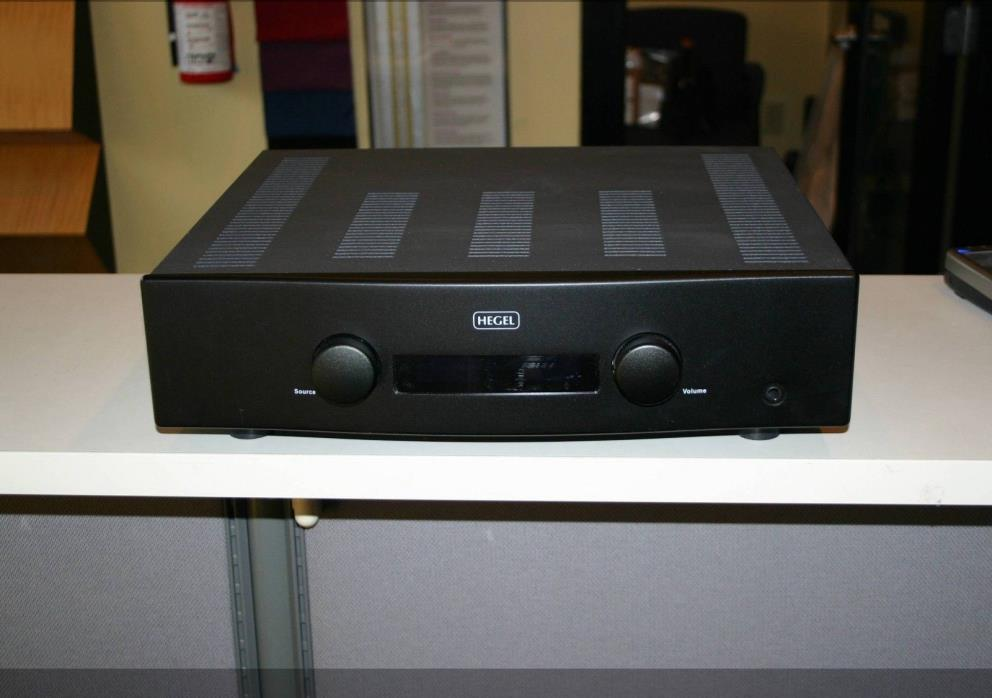 Hegel H160 Integrated Amplifier with built-in DAC