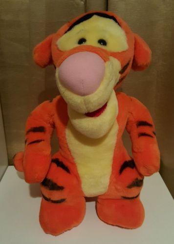 Disney TIGGER Plush JUMBO Mattel 21.5 inch Winnie Pooh
