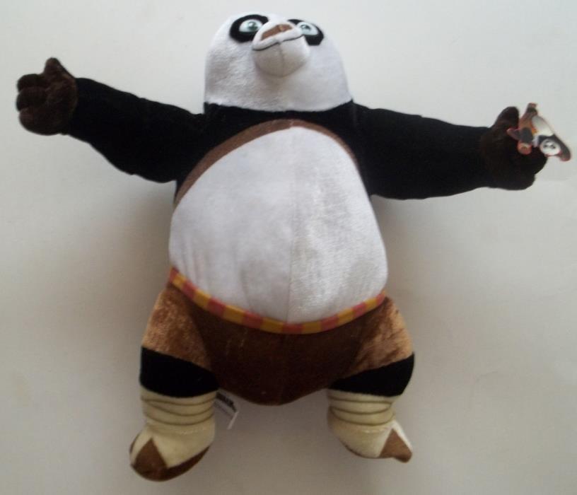2008 Nanco Kung Fu Panda Po Plush