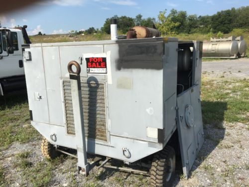 Hydraulic pump and or test bench 100 HP Detroit diesel