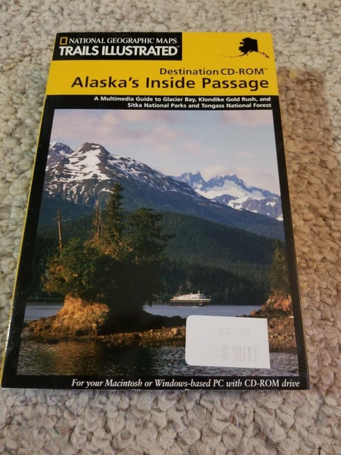NATIONAL GEOGRAPHIC TOPO MAPPING SOFTWARE USGS MAPS CD-ROM ALASKA USA PC/MAC NEW