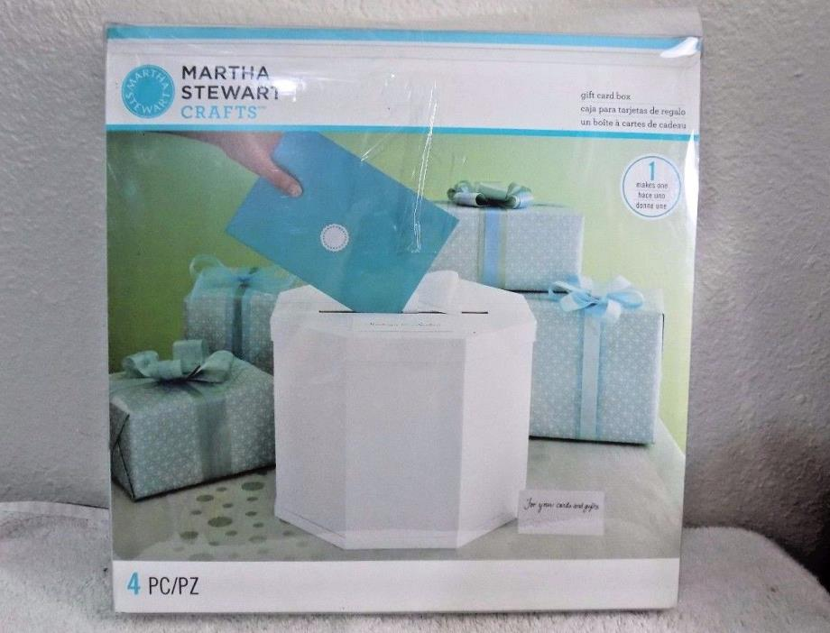 New Martha Stewart Wedding Reception Money Gift Card Box Anniversary ...