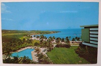 1979 Main Building, Cerromar Beach Hotel Dorado, Puerto Rico Postcard