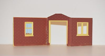 1:64 S Scale Section of a House Motormax American Graffiti diorama