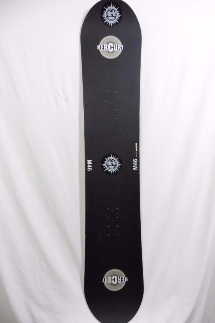 Liquid Mercury Snowboard M46 Jet Black 145cm