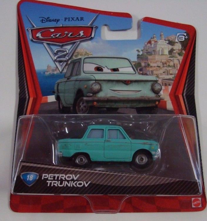 Disney Pixar CARS Movie  2  Die Cast Metal Mattel PETROV TRUNKOV  MIP